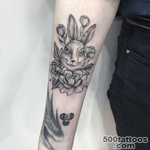 Rabbit Tattoo By Anna Bravo_41