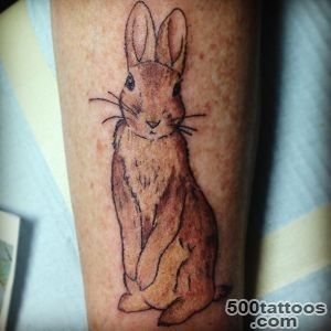 Rabbit Tattoos, Designs And Ideas  Page 12_37