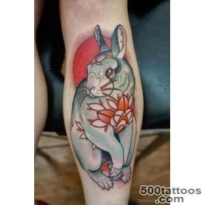 Rabbit Tattoos  Tattoo Designs, Tattoo Pictures  Page 10_38