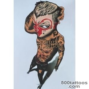 3d-Monkey-Tattoo-Sticker-Waterproof-Temporary-Removable-Tattoos-_19jpg