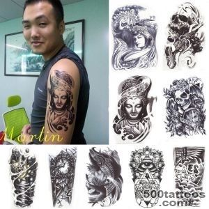 Large-Type-Temporary-Tattoo-Body-Arm-Art-Waterproof-Removable-_28jpg