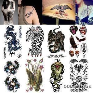 Wholesale-Body-Art-Fake-Tattoo-Wild-Beast-Tiger-Temporary-Tattoo-_21jpg
