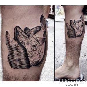 Rhino Tattoo  Best Tattoo Ideas Gallery_31