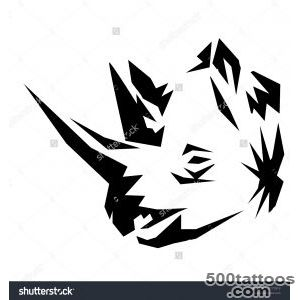 Rhino Tattoos Stock Photo 120177919  Shutterstock_44