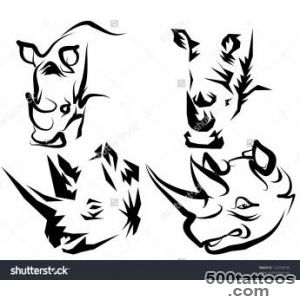 Tattoo Rhino Stock Photo 122439745  Shutterstock_45