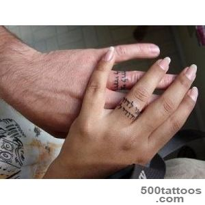 33 Impossibly Sweet Wedding Ring Tattoo Ideas You#39ll Want To Say _42