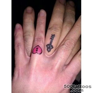 35 Romantic Wedding Ring finger Tattoo designs and ideas_5