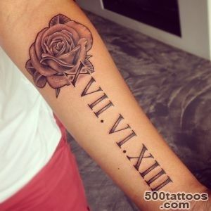 40 Prestigious Roman Numeral Tattoos   Special and Creative_21