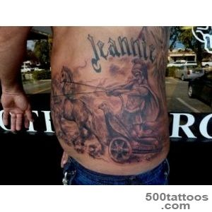 Roman Chariot by Mully  Tattoos_14