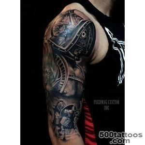 Roman Gladiator  Best tattoo ideas amp designs_48