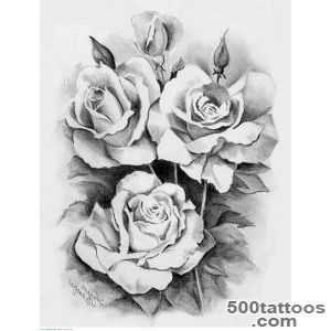10 White Rose Tattoo Samples And Design Ideas_7