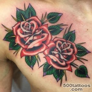 50+ Stylish Roses Tattoo Designs and Meaning_24