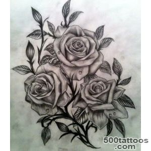 55 Best Rose Tattoos Designs   Best Tattoos for 2016   Pretty Designs_1