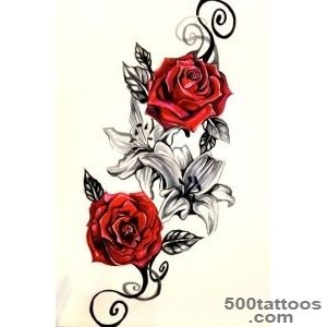1000+ ideas about Rose Tattoo Thigh on Pinterest  Thigh Tattoos _23