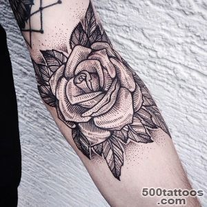 Black Rose Tattoo By Jessica Svrtvt_36