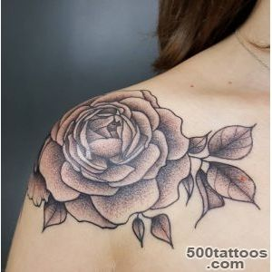 Black Rose Tattoo By Ruby Gore_16
