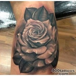 Feed Your Ink Addiction With 50 Of The Most Beautiful Rose Tattoo _42