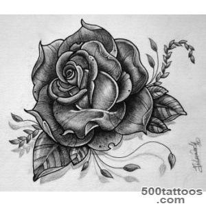 Rose tattoo design by gabchik on DeviantArt_11