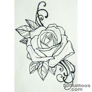 tattoo rose [this would be perfect for my shoulders to finish out _18