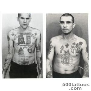 Pin Of Criminals Covered In Russian Prison Tattoos Cvlt Nation on _50