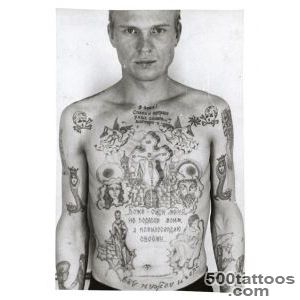 The Visual Encyclopedia of Russian Prison Tattoos  VICE  United _3