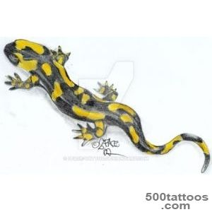 DeviantArt More Like Fire Salamander Real Tattoo by 2Face Tattoo_17