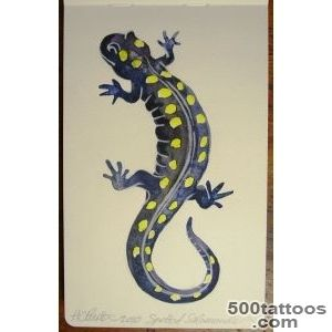 Pin Spotted Salamander Pictures Tattoo on Pinterest_31