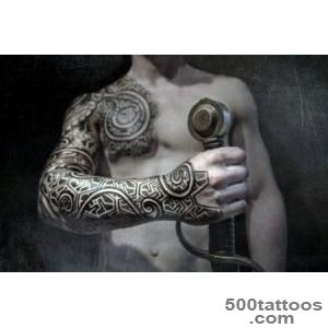 100 Norse Tattoos For Men   Medieval Norwegian Designs_31