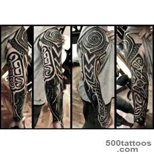 Vikings Tattoos By Peter Walrus Madsen, A Mash Up Of Nordic Folk _9