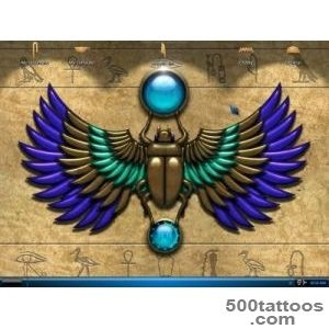 DeviantArt More Like My Winged Scarab Tattoo by Janet Asuka_31