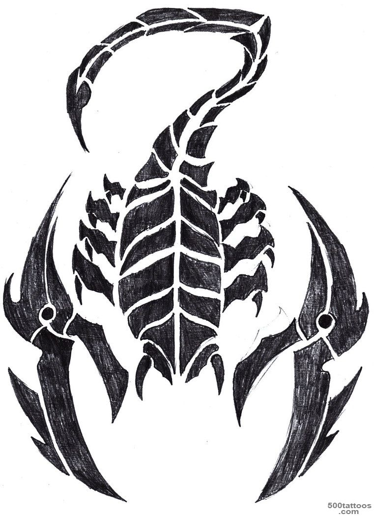 5+ Best Scorpion Tattoo Designs And Ideas_11