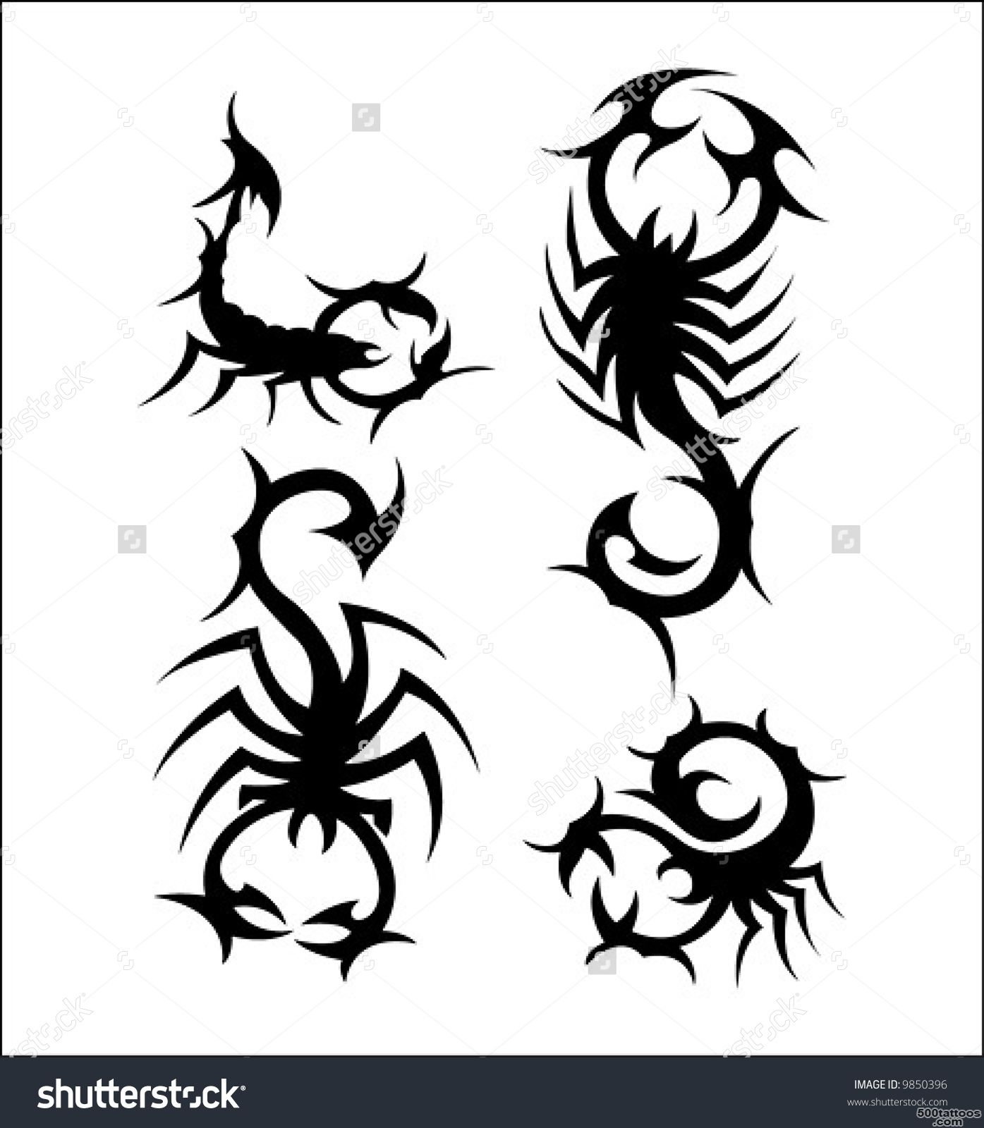 Scorpion Tattoo Stock Photos, Images, amp Pictures  Shutterstock_15