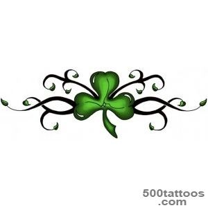 Shamrock tattoo designs, ideas, meanings, images