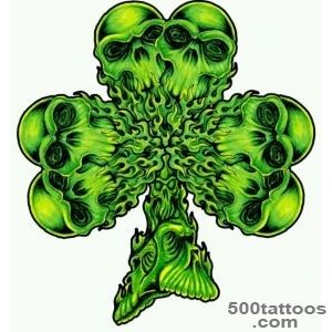 Skull-shamrock-tattoo---this-is-just-bad-ass-Couldn#39t-get-it-bc-_13jpg