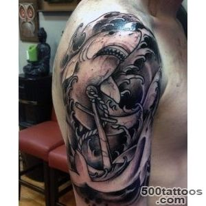 90 Shark Tattoo Designs For Men   Underwater Food Chain_25