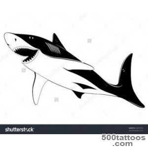Black Shark Tattoo Stock Photos, Images, amp Pictures  Shutterstock_33