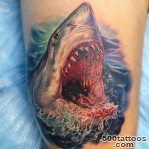 Shark Tattoo Meanings  iTattooDesignscom_5