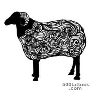 12 Unique Sheep Tattoo Designs, Samples And Ideas_21