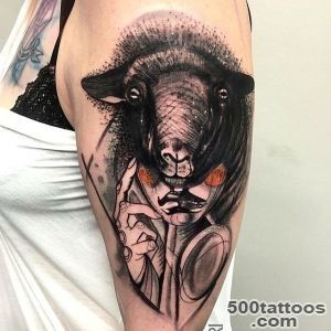 Mask of Black Sheep Tattoo  Best Tattoo Ideas Gallery_38