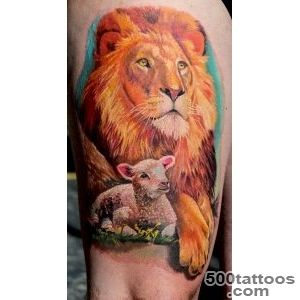 Out Of Step – Black Sheep Tattoo On Half Sleeve_36