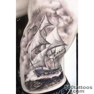 50 Amazing Ship Tattoos You Won#39t Believe Are Real   TattooBlend_14