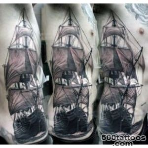70 Ship Tattoo Ideas For Men   A Sea Of Sailor Designs_23