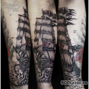 100 Boat Tattoo Designs  Art and Design_17