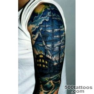 100 Boat Tattoo Designs  Art and Design_44