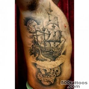 Pirate Ship Tattoo_11