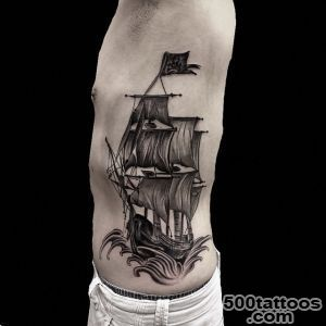 Pirate Ship Tattoo_39
