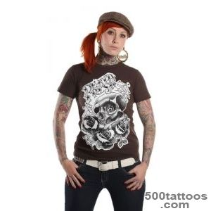 Lucky 13? tattoo t shirt by Death Fresh — Hide Your Arms_16