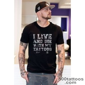 Streetwear Clothing amp Artworks Scotty 76   Tattoos T Shirt Black_9