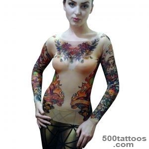 TATTOO MESH SHIRTS   TOPS   WOMENS_29