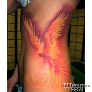 Phoenix Side Tattoo  Best tattoo ideas amp designs_15